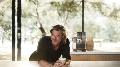 Brad Pitt on De'Longhi maailmale tutvustamiseks täiuslik saadik.