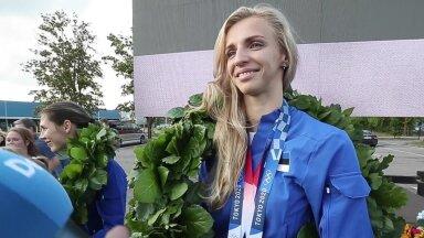 INTERVJUU | Tokyo olümpialt kaks medalit võitnud Katrina Lehis: usun, aga kohale ei ole ikka otseselt jõudnud