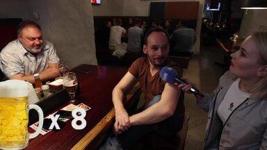 ОПРОС   Сколько пива выпивают эстонские футбольные фанаты за один матч и есть ли девушкам место в футболе?