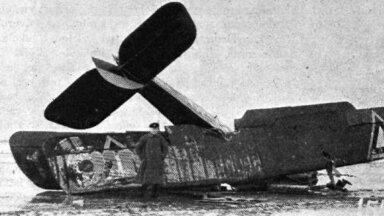 Õnnetuse läbi teinud lennuk DH 9, mis esimesena viis õhuposti Tallinnast Helsingisse ning tõi sealt 27 miljonit Eesti marka tagasi Tallinna (foto: Kaitse Kodu! arhiiv)