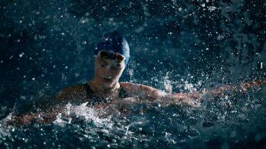 13aastane Eneli Jefimova püstitas 200 meetri rinnuliujumises Eesti täiskasvanute rekordi.