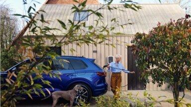 Volkswagen Touareg pistikhübriidina (tootja foto)