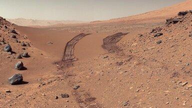 Curiosity jäädvustus Marsi pinnalt 2014. aastast (Foto: Wikimedia Commons / NASA, JPL-Caltech, MSSS)