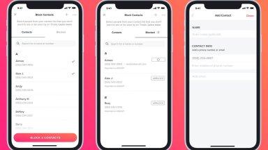Tinderi kõmuline uuendus lubab blokeerida telefonikontakte