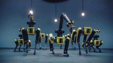 ВИДЕО │ Новый зажигательный танец от роботов Boston Dynamics и BTS