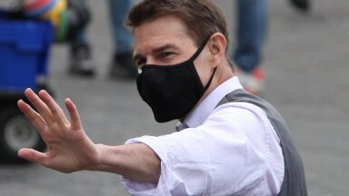 Filming of 'Mission: Impossible 7' in Rome