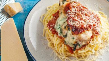 RETSEPT | Tänane eine olgu lihtne ja maitsev: kanafileetaskud spinati ja kodujuustuga