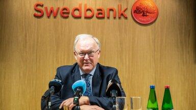 Swedbanki nõukogu juhi Göran Perssoni pressikonverents