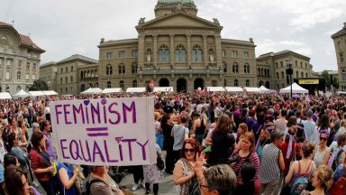 Naistemarss Šveitsis 14. juunil 2019