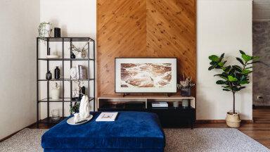 ФОТО | Дизайнер интерьеров советует: в моде сейчас декоративные панели за телевизором