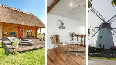 Unistad suvekodust mõnel Eesti saarel? Vaata, millised pärlid uut omanikku otsivad
