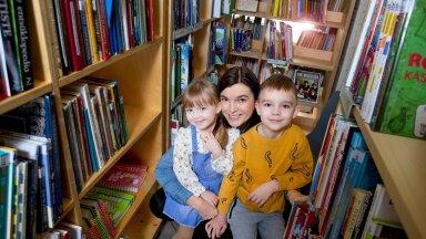Käime raamatukogus ehk kuus raamatusoovitust lastelt lastele!