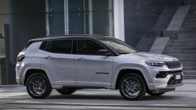 Eestisse jõuab uuenenud Jeep Compass