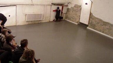 Arhtiektuurne ballett EKA ajurises hoones Rüütelkonna majas