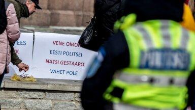 """Kuigi protestijad süüdistavad Eestit """"politseiriigiks"""" olemises, on Eesti neid kohelnud teistest Baltikumi riikidest pea tuhat korda leebemalt."""