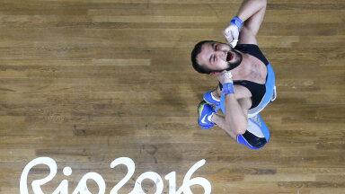 Nijat Rahimov Rio olümpial.