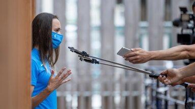 Ksenija Balta tegi kaugushüppega lõpparve. Mõistagi tuli tal oma otsuse tagamaid ajakirjanikele põhjalikult selgitada.