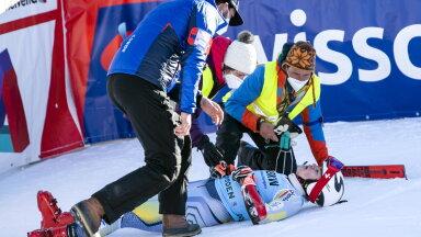 FOTOD JA VIDEO | Karmilt kukkunud Norra mäesuusatalent peab hooaja lõppenuks kuulutama