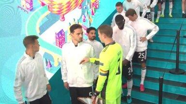 Мануэль Нойер перед матчем с Португалией