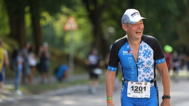 Raivo E. Tamm Tallinna Ironmani jooksurajal