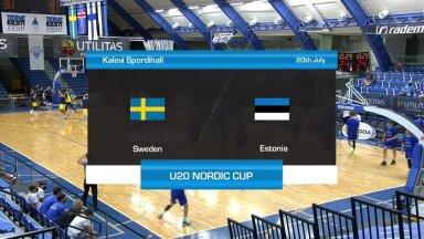 TÄISPIKKUSES | U20 Nordic Cup: Rootsi - Eesti