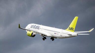 Võrreldes koroonaeelse ajaga lennutas airBaltic esimese poolaasta jooksul üle viie korra vähem reisijaid