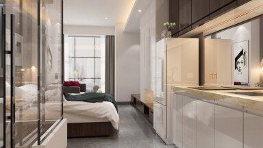 Как сделать трешку из однушки: советы по зонированию маленькой квартиры