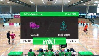 TÄISPIKKUSES | Korvpall: TalTech - Pärnu Sadam