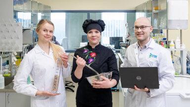 Vasakult Mari-Liis Kutti (TFTAK), Grete Hansson (Coop Kokad) ja Madis Jaagura (TFTAK)