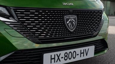 FOTOD   Uus auto uue logoga: Peugeot 308