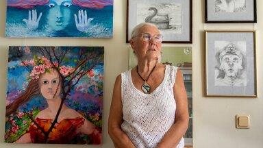 Marje Ernits,  maalid, joonistused