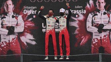 ФОТО: Ожье выиграл чемпионат мира по ралли, Тянак на третьем месте