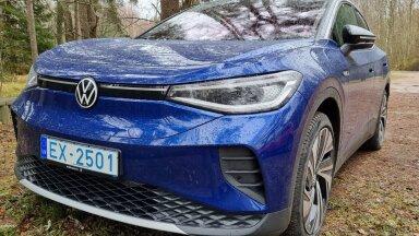 Garaažist välja: elektrimaastur Volkswagen ID.4 – on tõesti maailma aasta auto