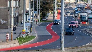 Jalgrattatee Pärnu maanteel