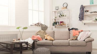 Üheksa halba harjumust, mis tekitavad kodus kiiresti segaduse ja korratu üldmulje