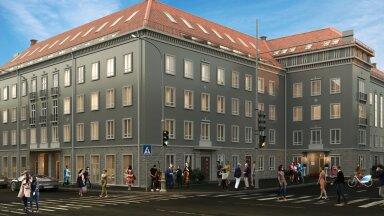Loomeinimesed on leidnud endale uue kodu pealinna südames asuvas Teatri Majas