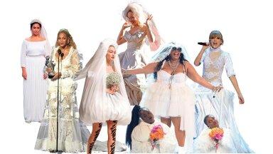FOTOD | Popkultuuri lemmikpruudid: just need on viimase 20 aasta pulmakleitide vau-hetked