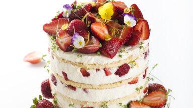 RETSEPT   Juunikuine lemmik — palava ilma maasika-kohupiimatort