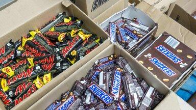 Šokolaadibatoonid. Foto on illustratiivne.