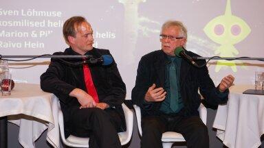 Kosmonautikapäev 2015 Tallinna Teletornis, Mart Noorma ja Igor Volke