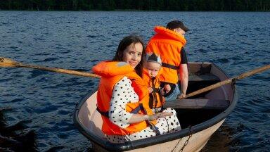 Laps murdis meie tiivad, aga kinkis võimsa laeva