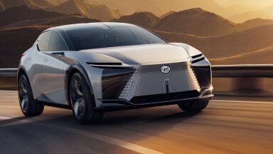 Fotod: Lexuse ideeauto LF-Z Electrified