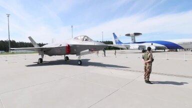 VIDEO ja FOTOD   Balti riikide õhuruumis algas NATO õhuväe õppus Ramstein Alloy