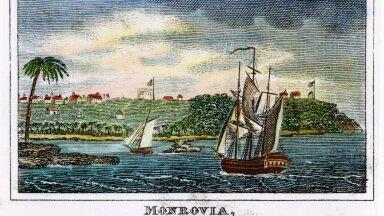 UUE RIIGI SÜNNI EEL: Vabad orjad saabuvad 1832. aastal Ameerika Koloniseerimise Ühingu toel Monroviasse.