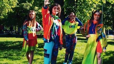 ВИДЕО | Новый бренд подростковой одежды из Таллинна представил свою коллекцию с участием юных эстонских моделей