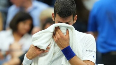 Novak Djokovići pisarad – suur slämm pudenes käest.