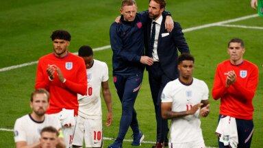 Главный тренер сборной Англии о пенальтистах: это был мой выбор, за это отвечаю я