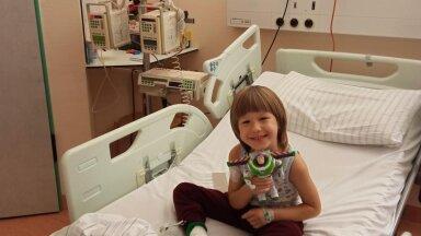 Спасибо неравнодушным людям! Пятилетний Павел находится на лечении в Дюссельдорфе и чувствует себя немного лучше!