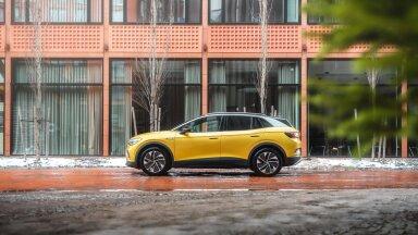 Volkswageni esimene täiselektriline linnamaastur ID.4 jõudis Eestisse – sõiduulatus 520 km