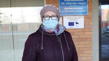 Жительница Силламяэ: вакцинируйтесь от коронавируса — вчера мы похоронили родственника, очень много знакомых умерло